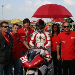 2 TEAM  in pista CIV 2008