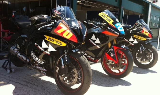 Forward Racing Junior Team pronto per la stagione 2011 del CIV